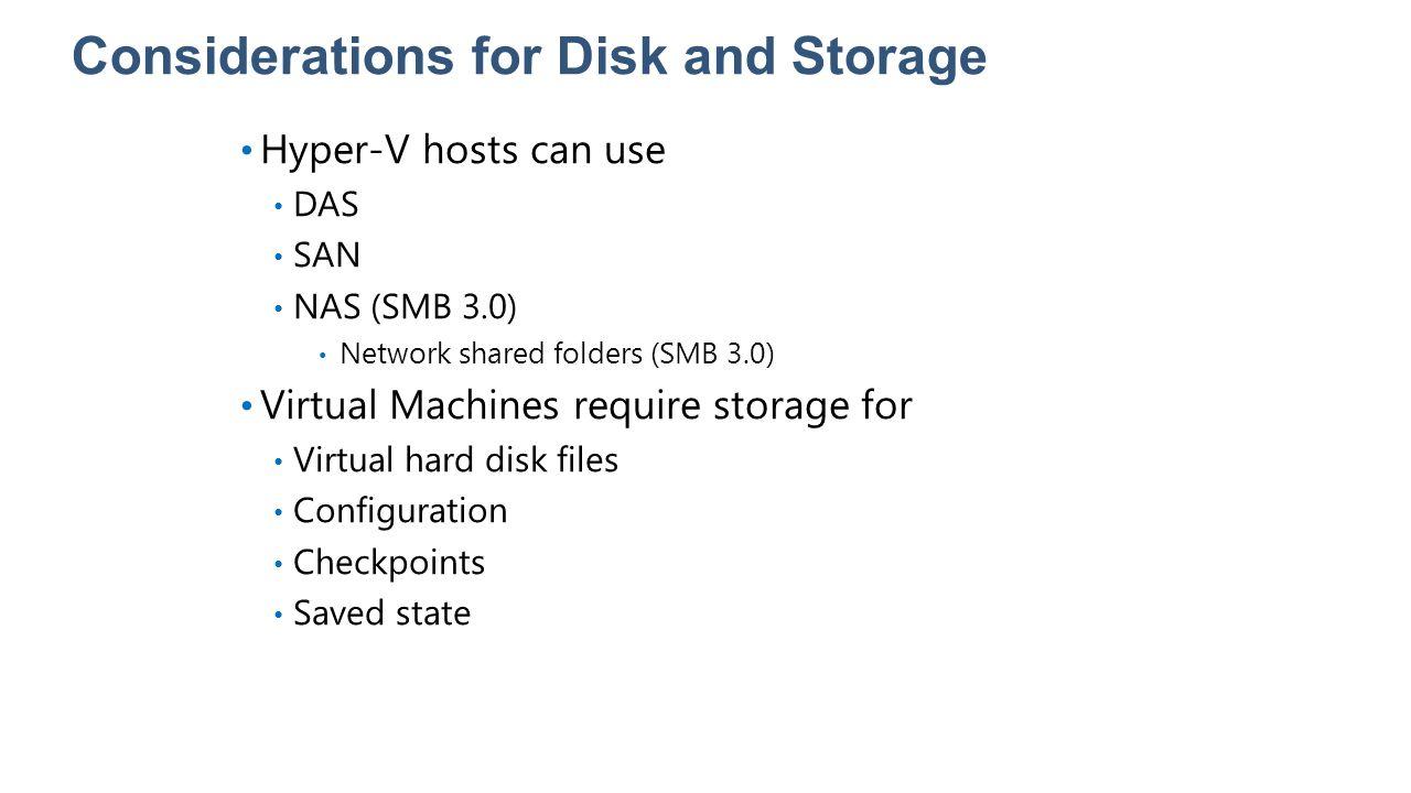 Lesson 3: Configuring Hyper-V Settings Overview of Hyper-V Settings What Is NUMA.