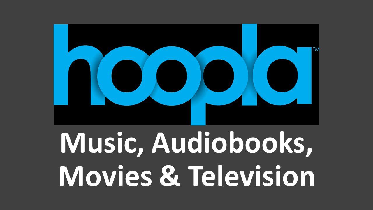 Music, Audiobooks, Movies & Television