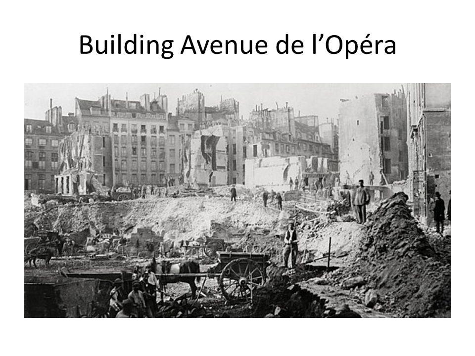 Building Avenue de l'Opéra