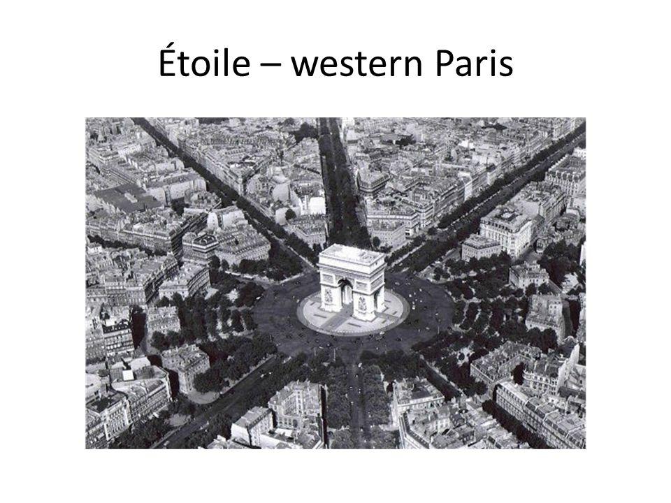 Étoile – western Paris