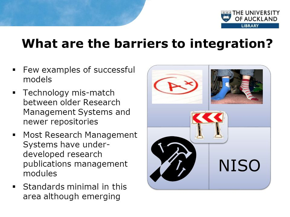 What are the barriers to integration.