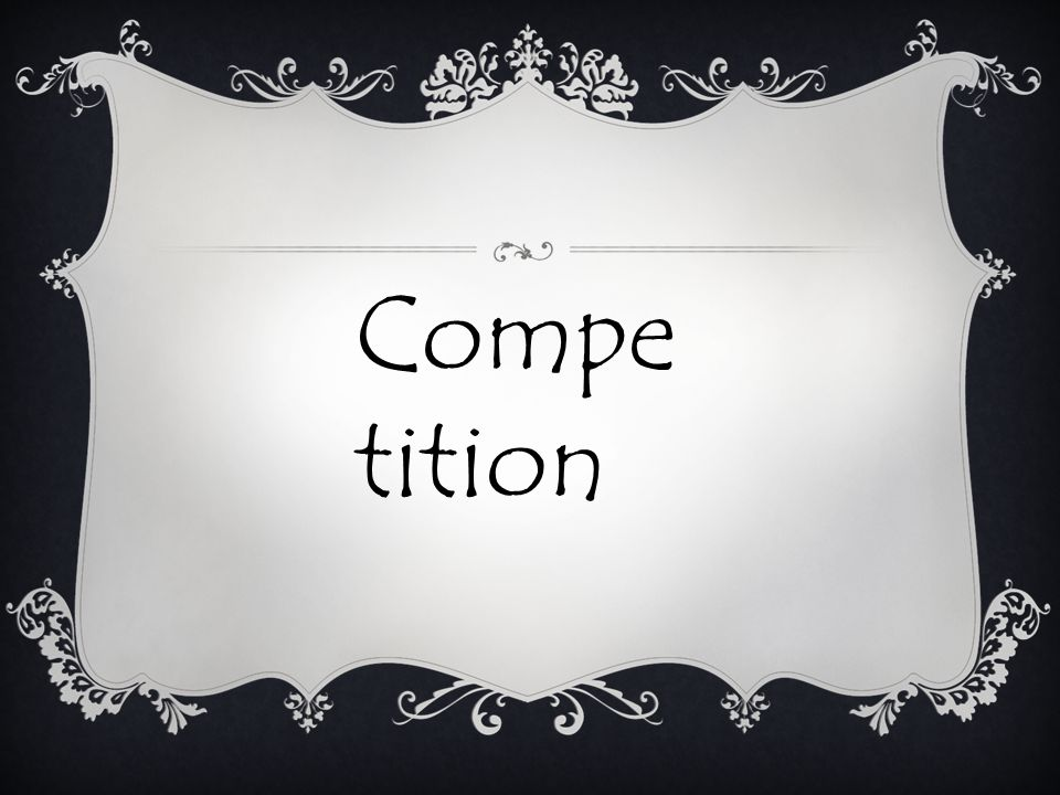 Compe tition
