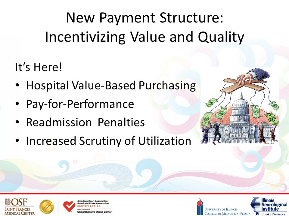 New Payment Structure: Incentivizing Value and Quality It's Here.