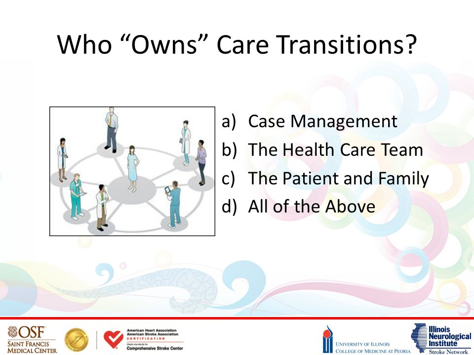 Who Owns Care Transitions.