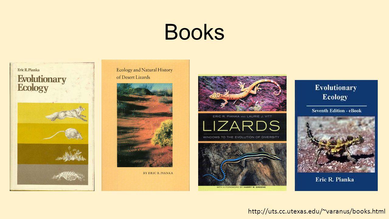 Books http://uts.cc.utexas.edu/~varanus/books.html