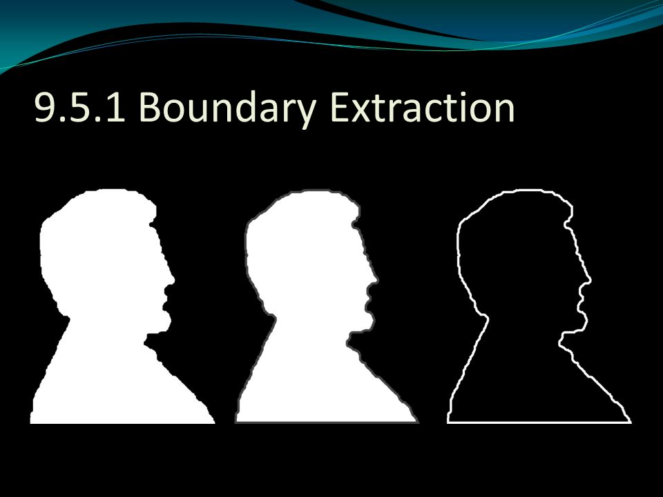 9.5.1 Boundary Extraction