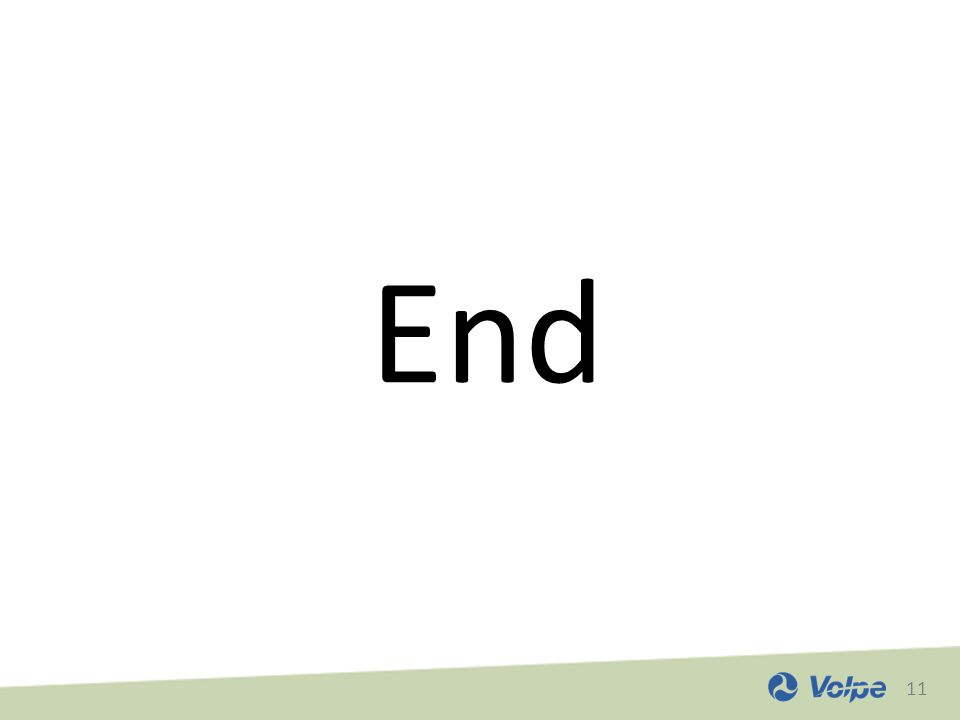 11 End