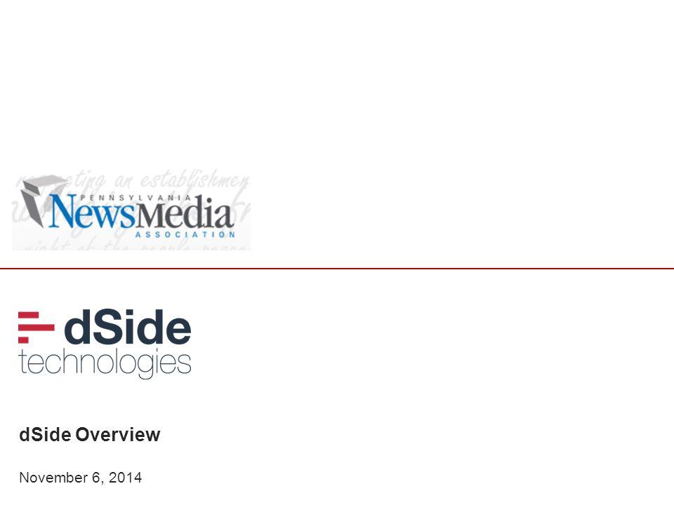 dSide Overview November 6, 2014