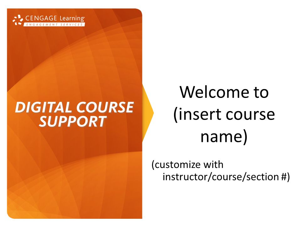 Pointing Students in the Right Direction.[xxx] is your required text for this course.
