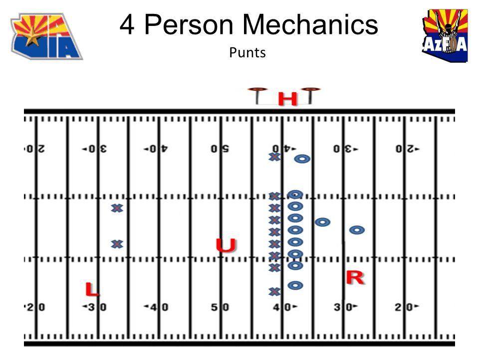 4 Person Mechanics Punts