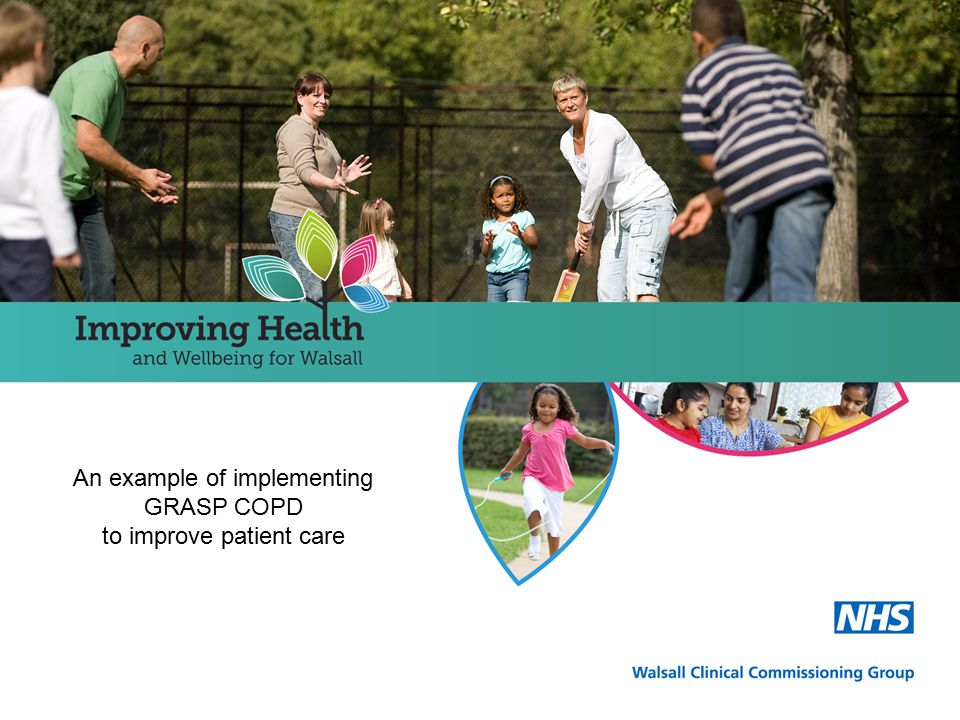 An example of implementing GRASP COPD to improve patient care