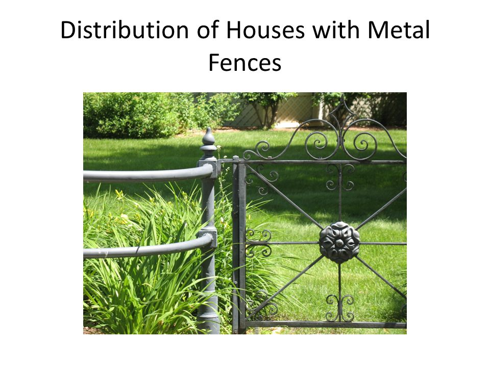 Metal fences can be more expensive Installation process Wrought iron