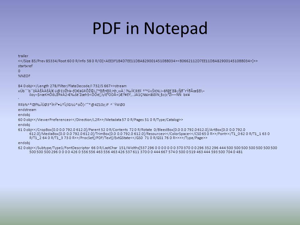 PDF in Notepad trailer ]>> startxref 0 %EOF 84 0 obj >stream xÚb```b``žÄÀÊÀÀÈÀÏ€ ü@1VŽhଃO€äG‡ÕŽ©L{™ðH0,Hh¸wÀ¦!‰Í‡}‡Ðî †™û+ŠXNLI–8f ã–Ñð˜rÝðÃœ§