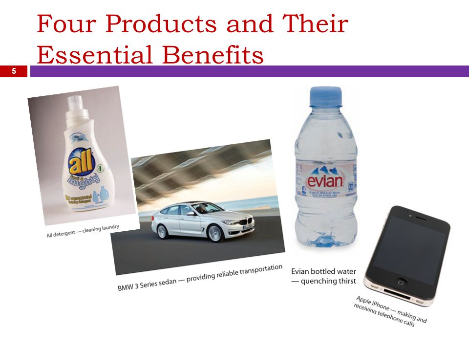 Four Products and Their Essential Benefits 5
