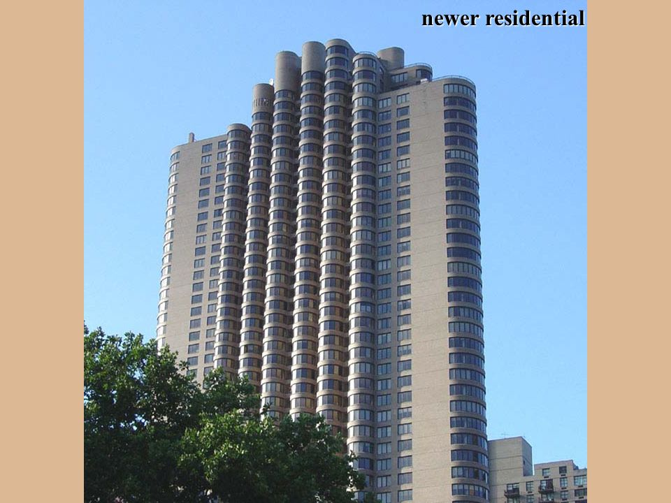 newer residential