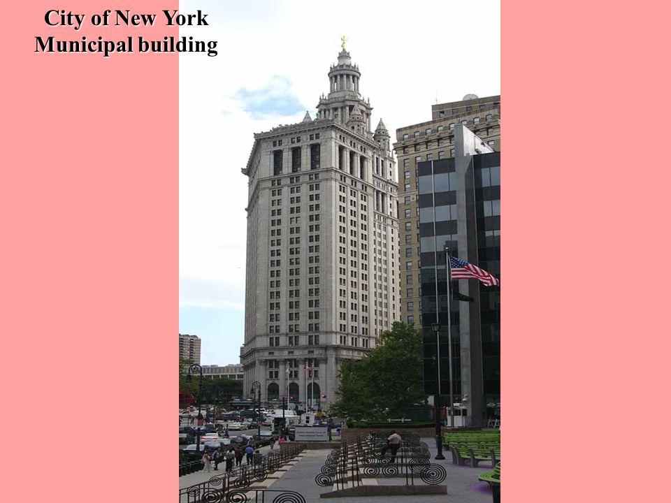 City of New York Municipal building