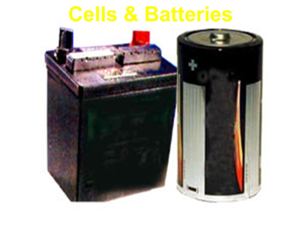 Cells & Batteries