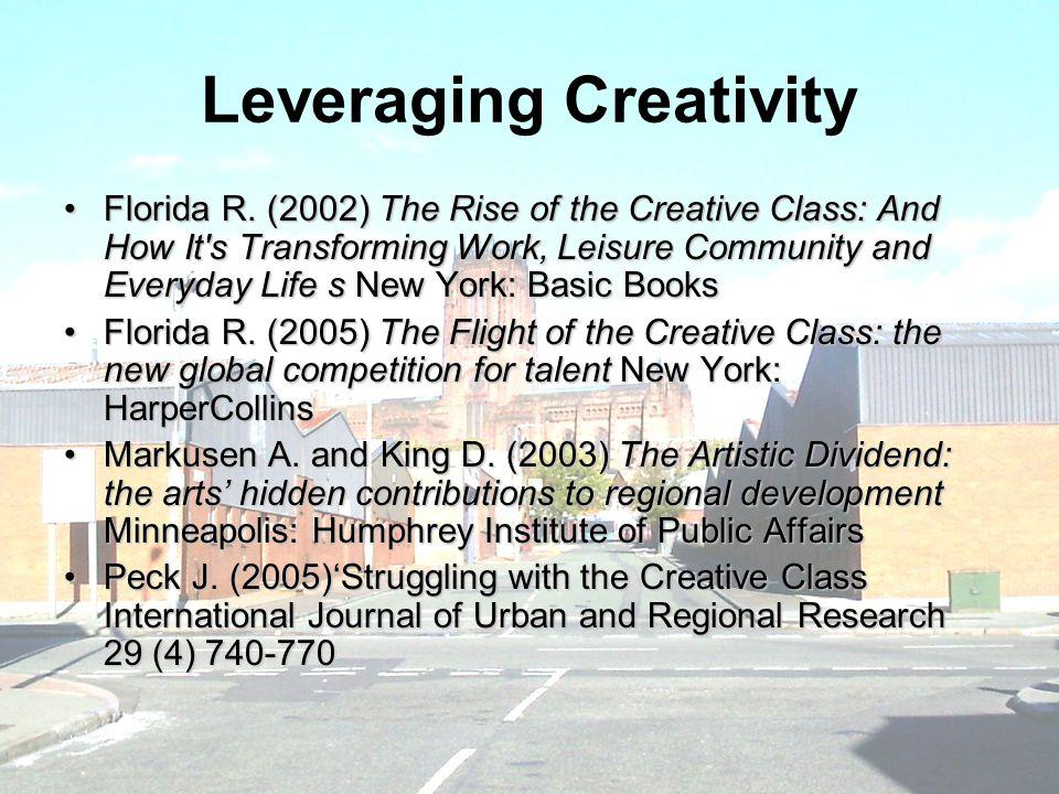 Leveraging Creativity Florida R.