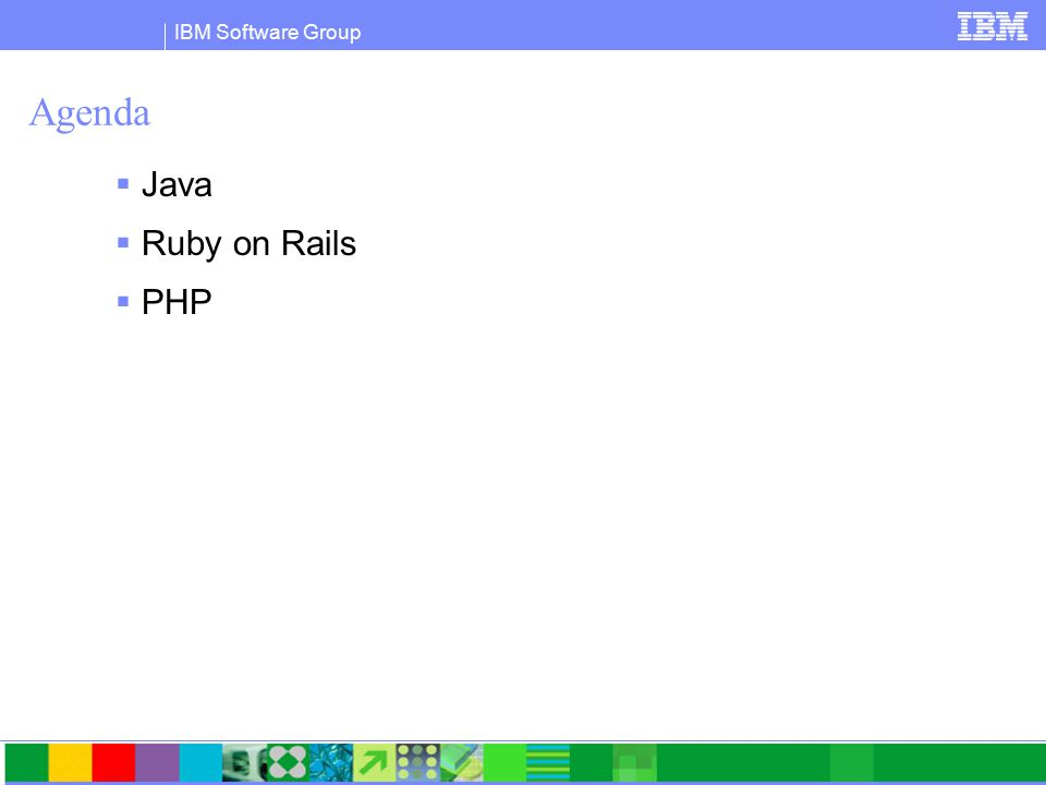 IBM Software Group IBM DB2 Driver for JDBC (aka JCC Driver)  Java driver optimized for all DB2 servers  DB2 for i5/OS (a.k.a iSeries or AS/400)  DB2 for zOS (v8)  DB2 for Linux, UNIX, Windows  Single driver can be used in type 2 and type 4 modes  db2jcc.jar (com.ibm.db2.jcc)  Type 2 (Requires a DB2 client)  Type 4 (Pure Java client, no need for a DB2 client)  db2jcc.jar is included in:  IBM Data Server client  IBM Data Server Runtime Client  IBM Data Server Driver for JDBC and SQLJ