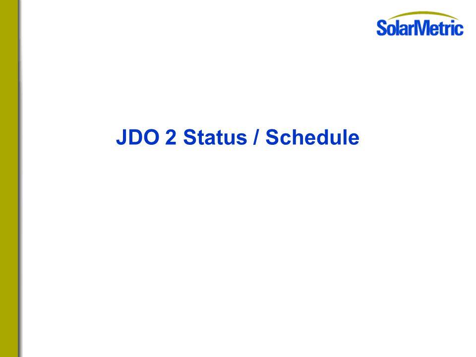 JDO 2 Status / Schedule