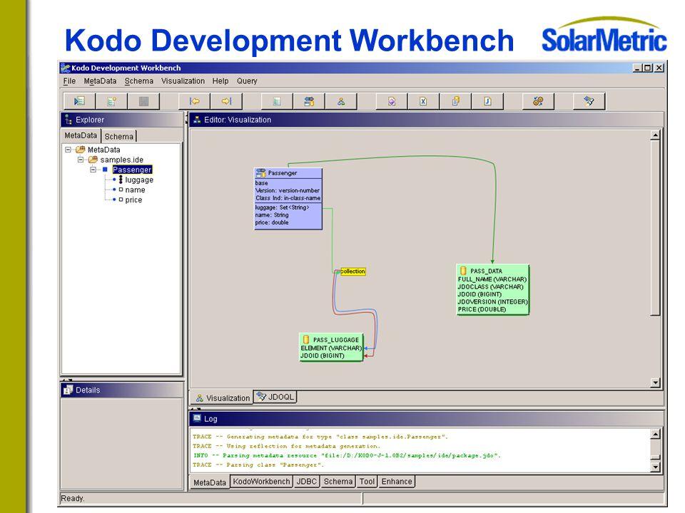 Kodo Development Workbench