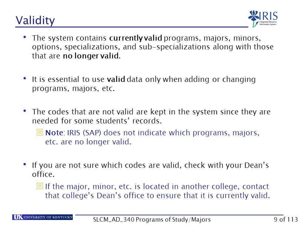 Adding a Second Program of Study Click Assign Specialization Double-click on the major The priority will default to 1.