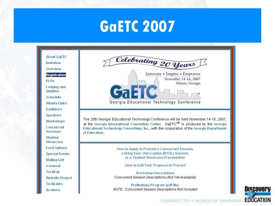 GaETC 2007