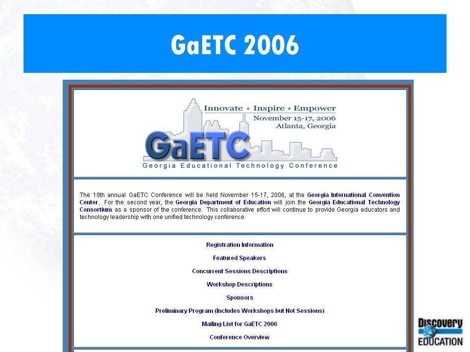 GaETC 2006
