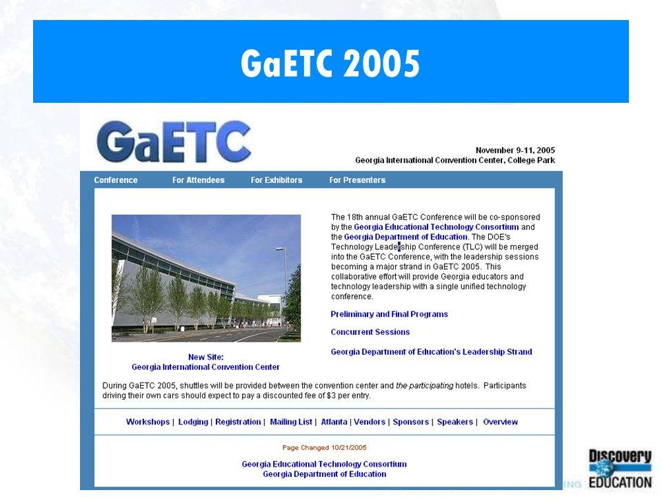 GaETC 2005