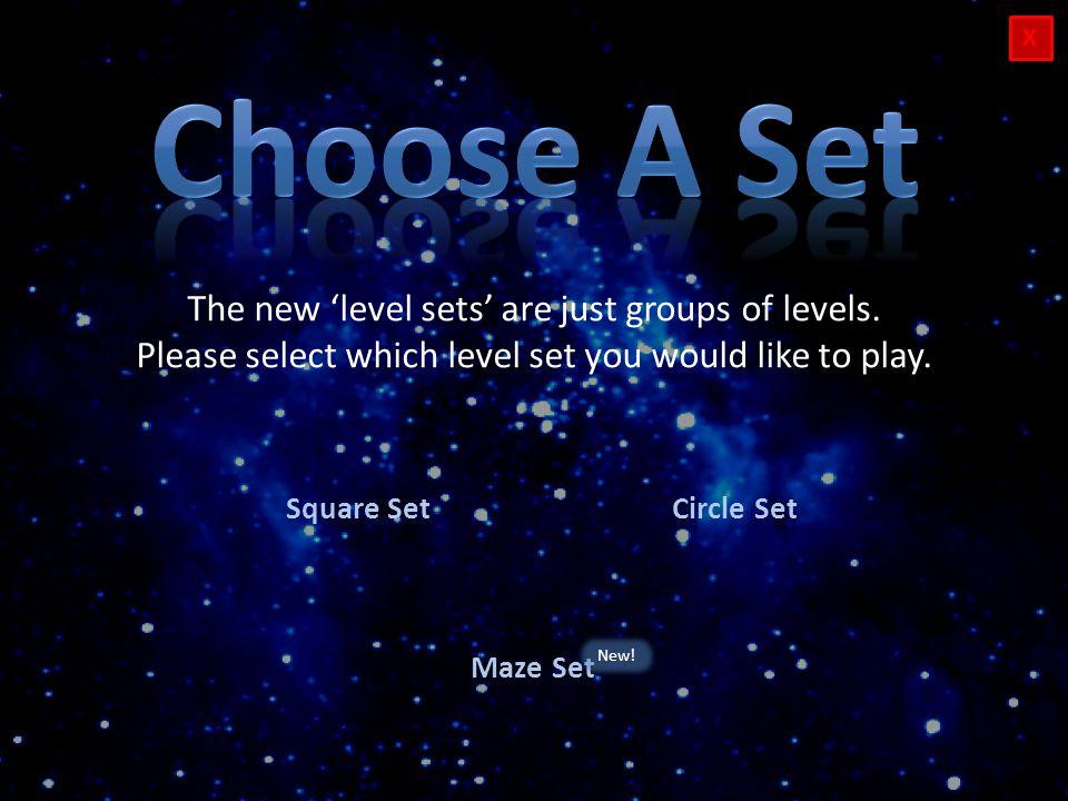 X Play Level 1 Play Level 2Play Level 3 Play Level 7 Play Level 4 Play Level 5Play Level 6 Back