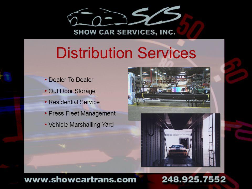 Dealer To Dealer Out Door Storage Residential Service Press Fleet Management Vehicle Marshalling Yard Distribution Services