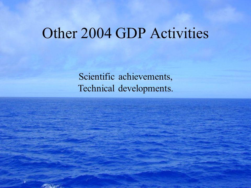 Rick Lumpkin (Rick.Lumpkin@noaa.gov) National Oceanic and Atmospheric Administration (NOAA) Atlantic Oceanographic and Meteorological Laboratory (AOML) Miami, Florida USA