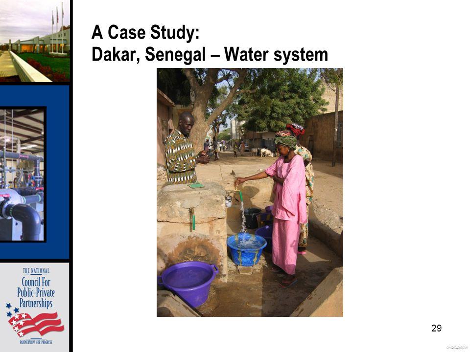 O102004008OMI 29 A Case Study: Dakar, Senegal – Water system
