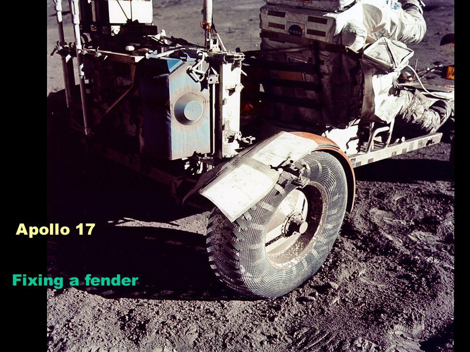 Fixing a fender Apollo 17