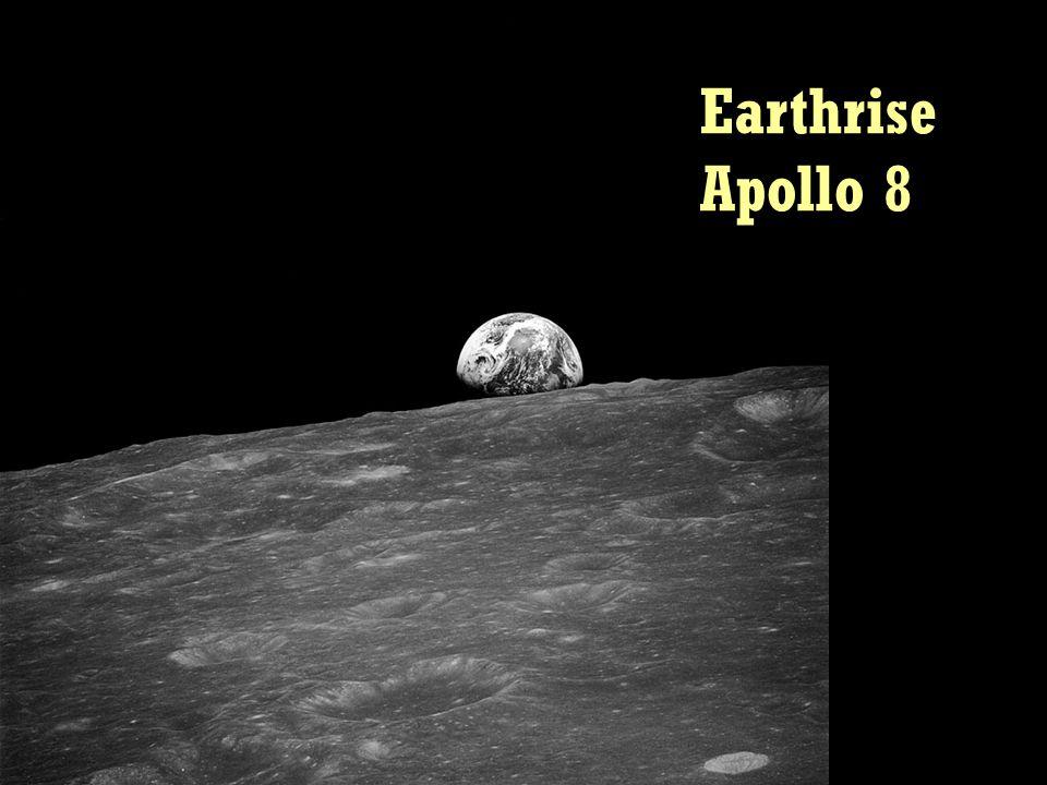 Earthrise Apollo 8