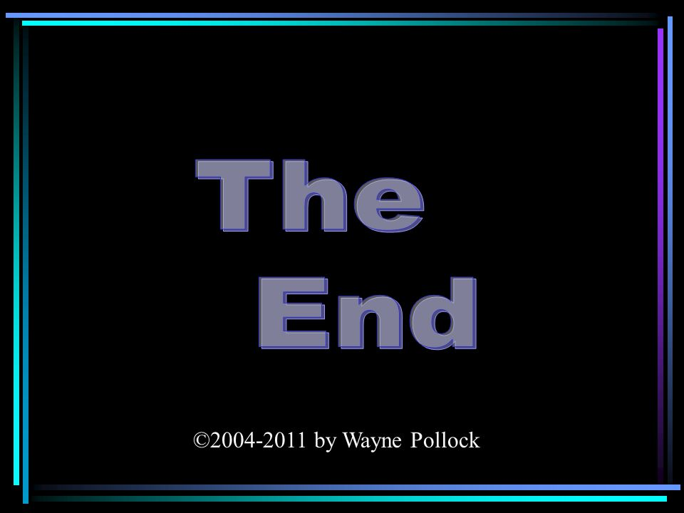 ©2004-2011 by Wayne Pollock