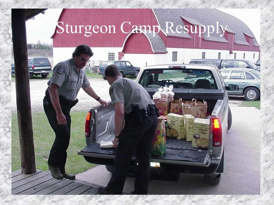 Sturgeon Camp Resupply