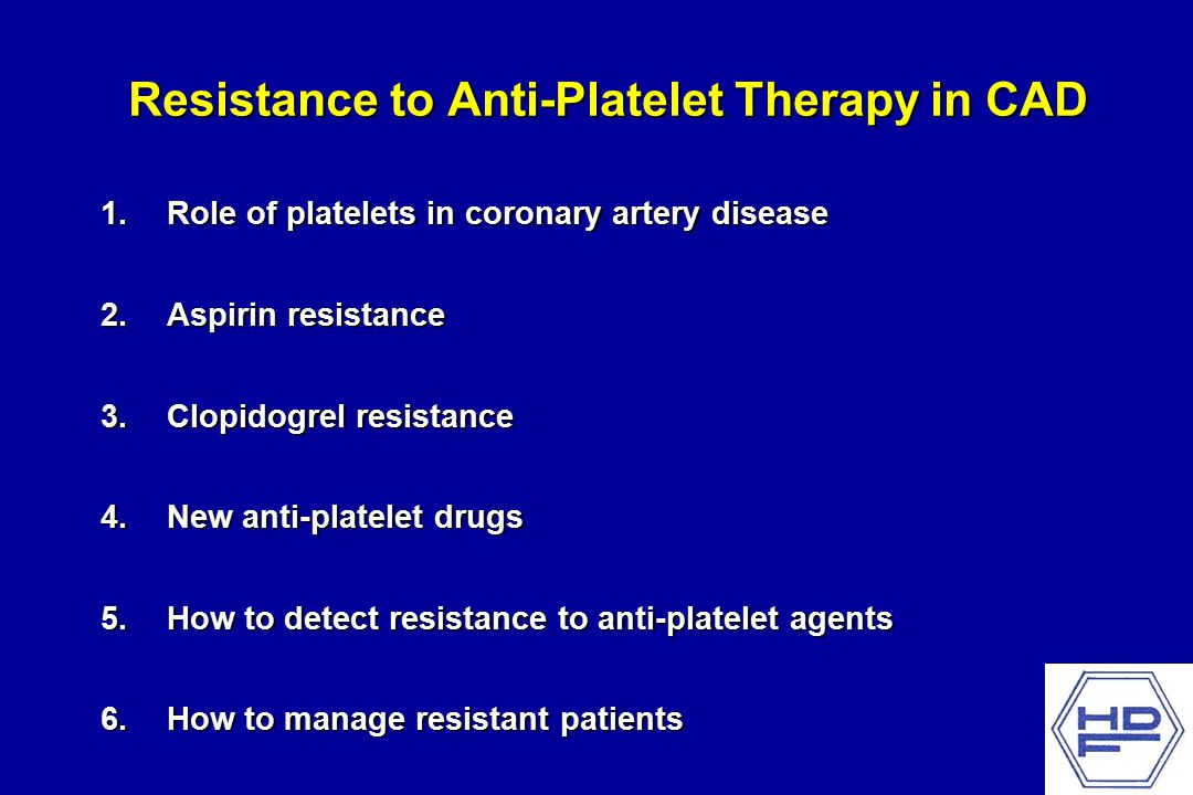 ASA Resistance and Clinical Outcome in CVD Patients Gum PA, et al.