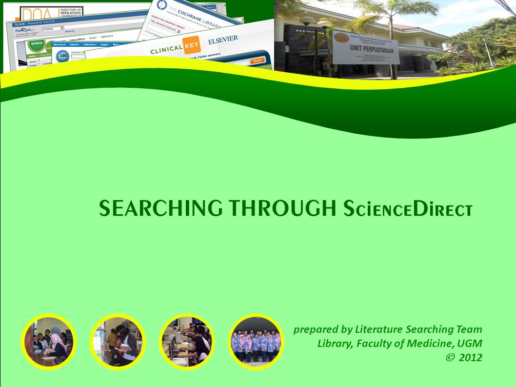 32 Sample from external source that provides a PDF full text SciVerse SEARCH RESULT PAGE