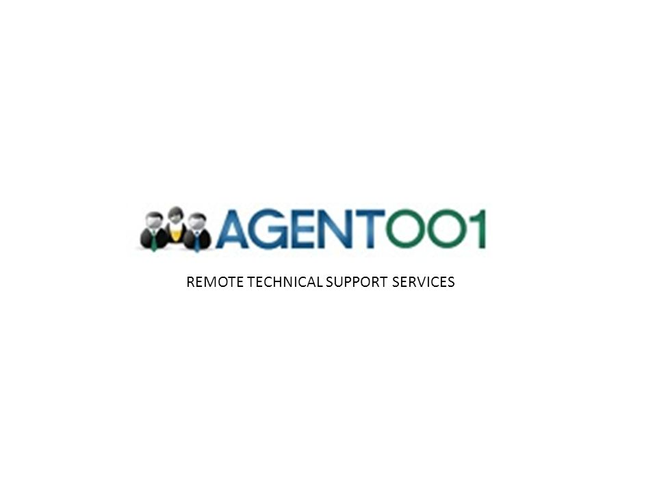 REMOTE TECHNICAL SUPPORT SERVICES