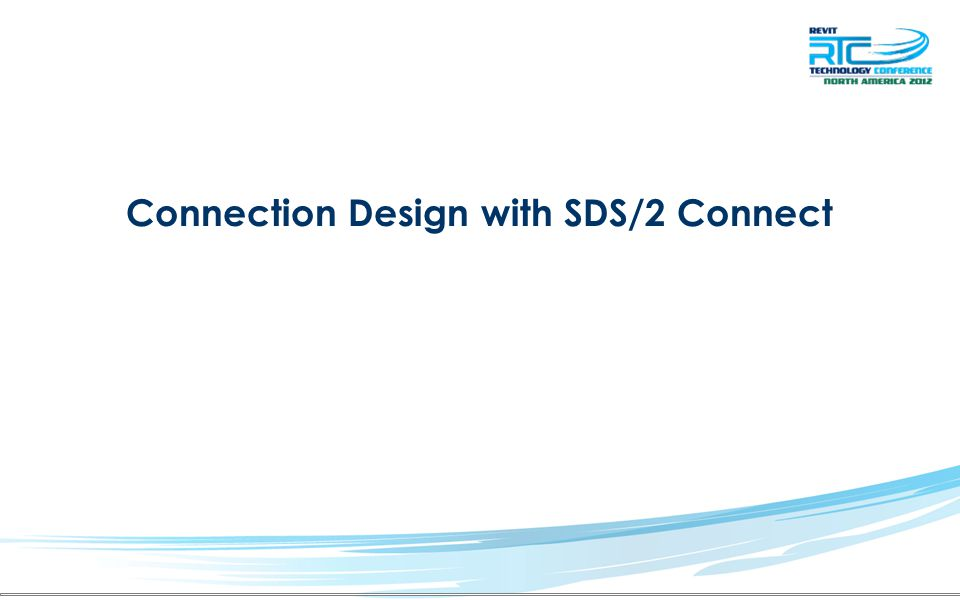 Connection Design with SDS/2 Connect