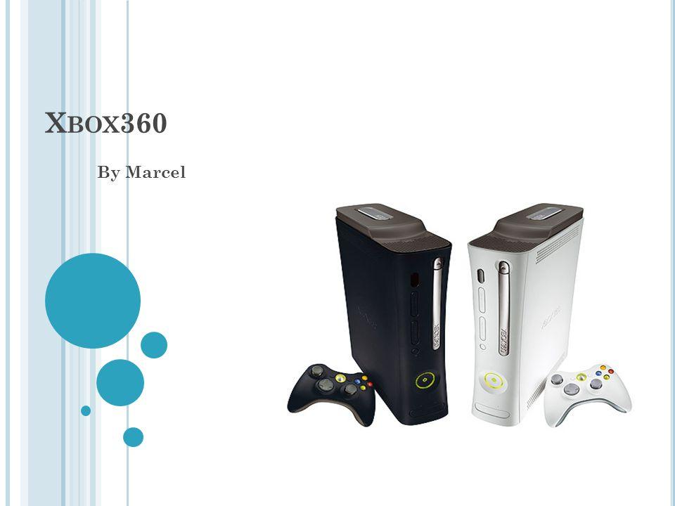 X BOX 360 By Marcel