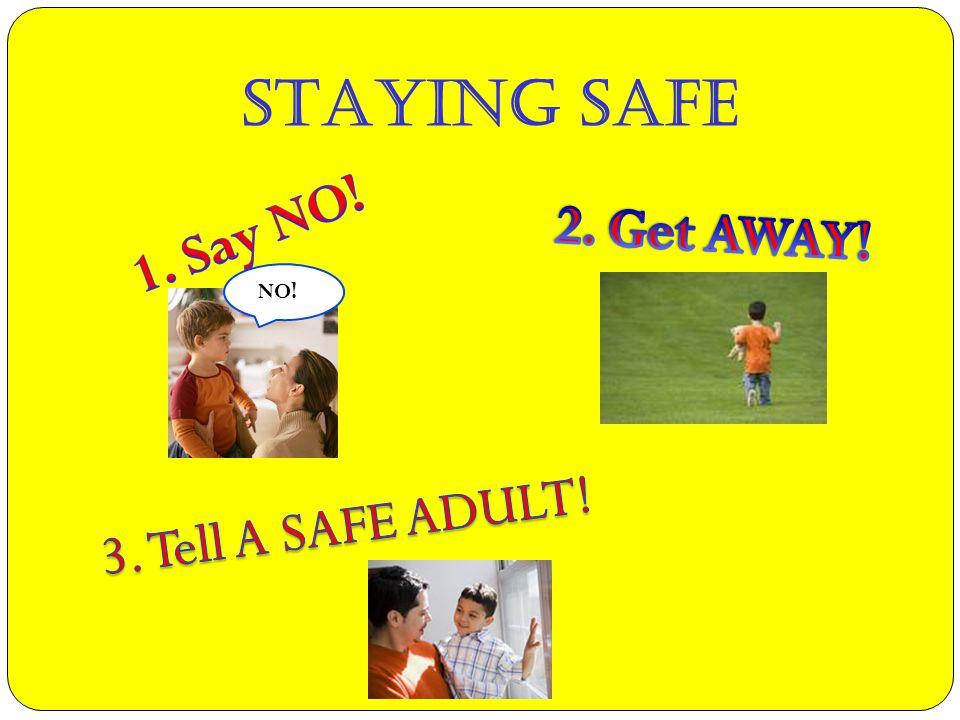 STAYING SAFE NO!