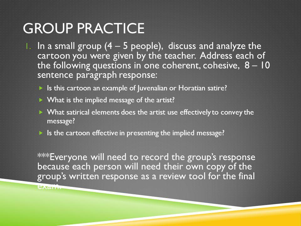 GROUP PRACTICE 1.
