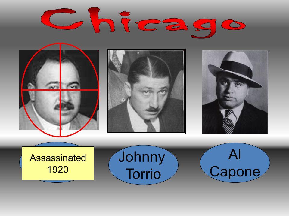 Big Jim Colosimo Johnny Torrio Al Capone Assassinated 1920
