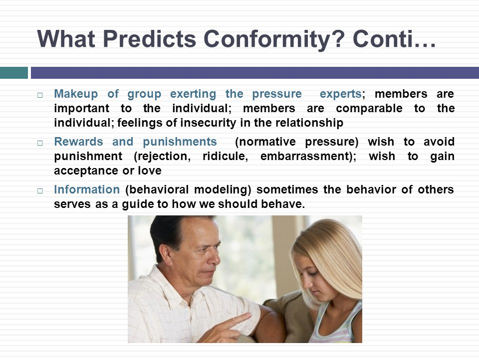 What Predicts Conformity.