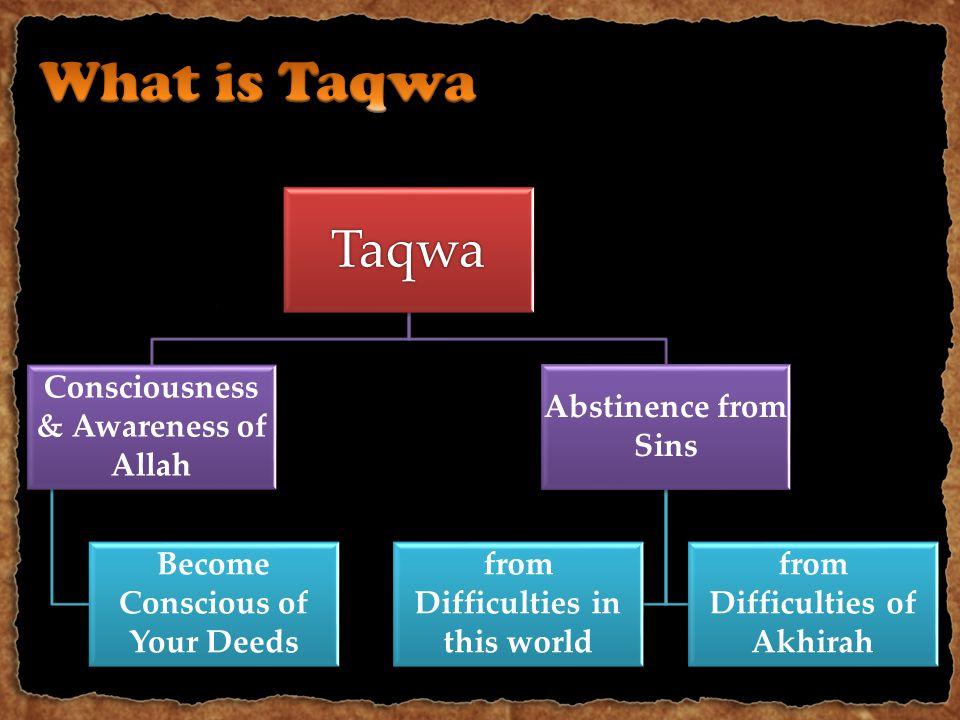 Taqwa Hold On to the Book GuidanceIbadah