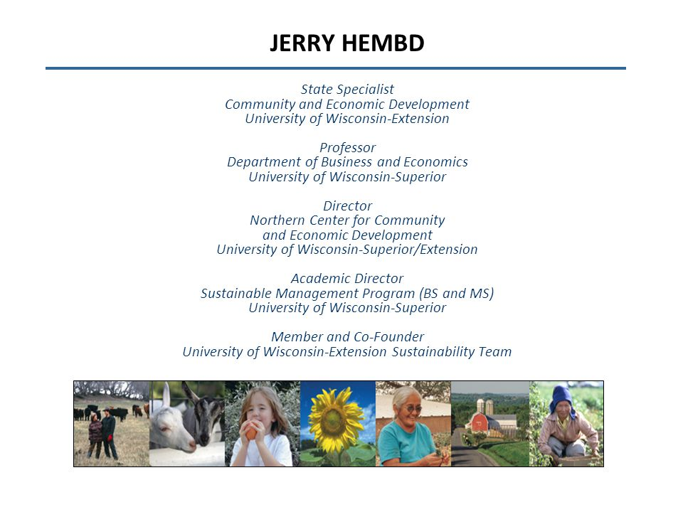 The Venn (and Zen ) of Sustainable Communities: A Capital Approach 2014 Community Capitals Framework Institute Lincoln, Nebraska November 5, 2014