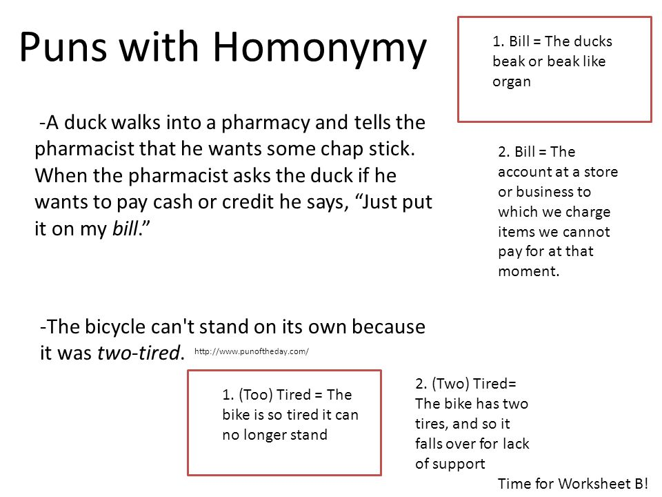 -A duck walks into a pharmacy and tells the pharmacist that he wants some chap stick.