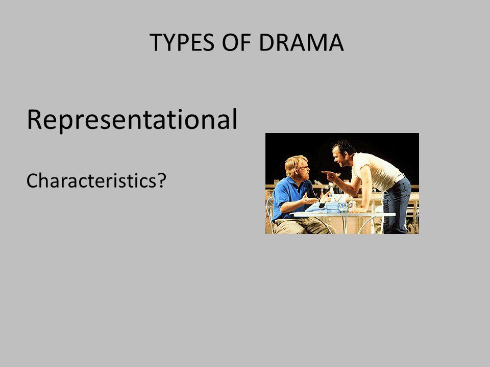 Representational Characteristics